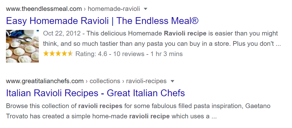 Leverage Structured Data and Rich Snippets